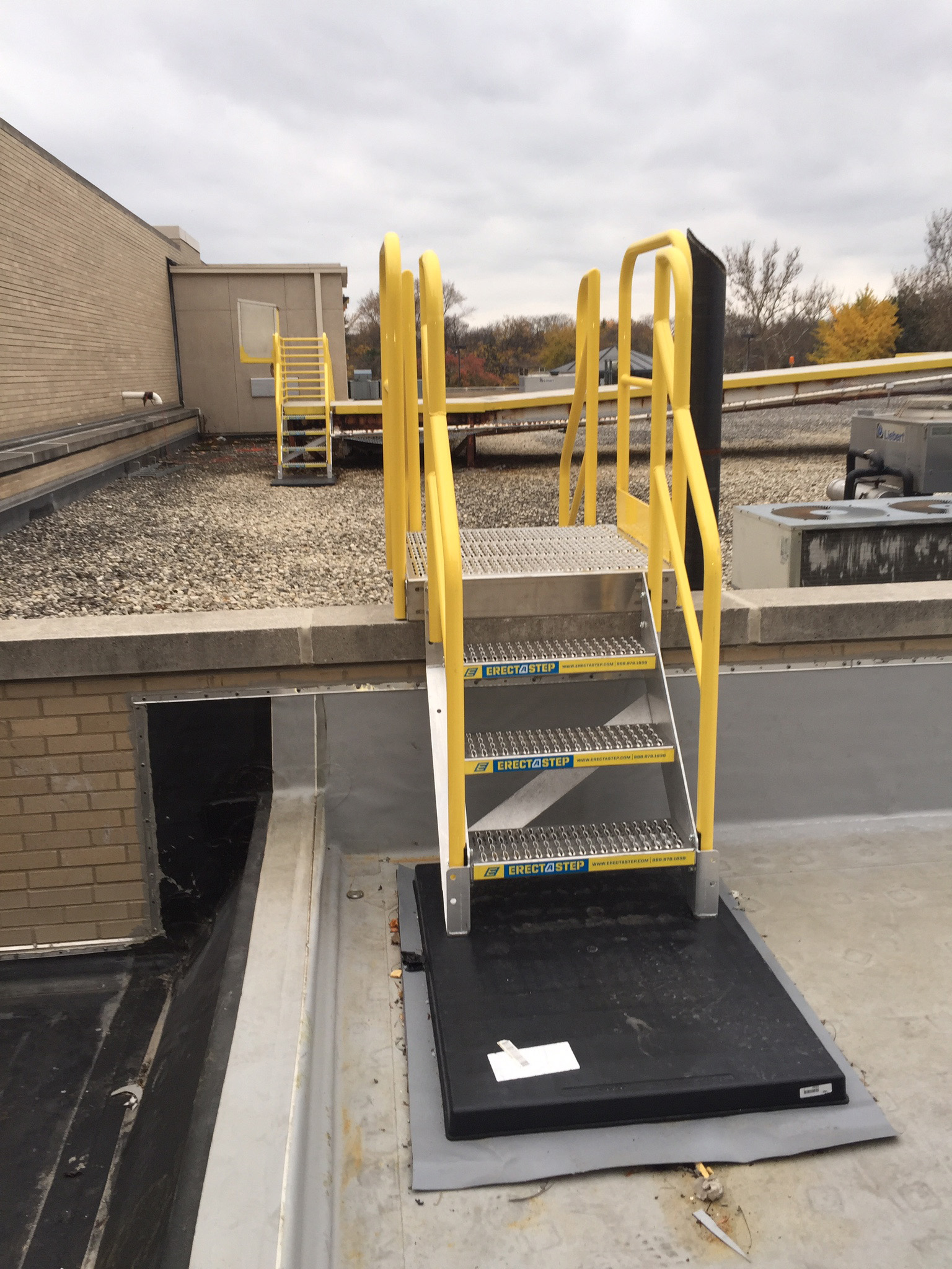 Erectastep Rooftop 3 Step Access Stairs Rollastep