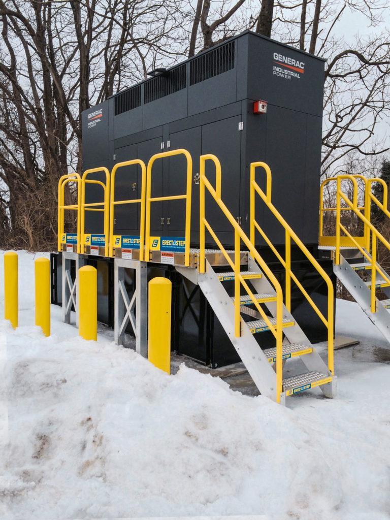 ErectaStep Mechanical Platform Maintenance Access