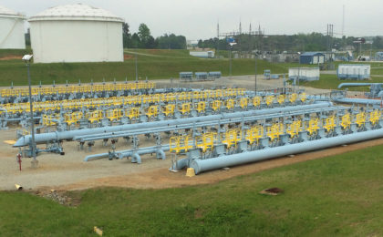 Erectastep Colonial Pipe field access platforms