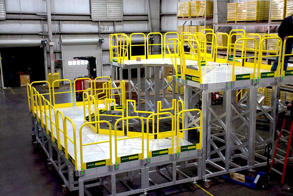Custom Work Platform for Space Capsule