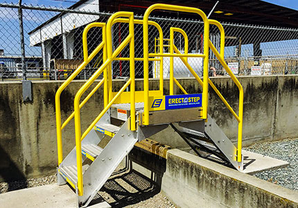 Crossover Platforms,crossover Stairs, Crossover Stair Platforms,maintenance  Platform, Aluminum Platform With Stairs, Work Platforms, Outdoor Metal  Stairs, ...