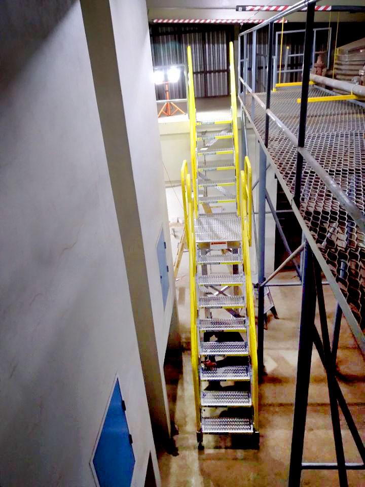 Mezzanine Access Stair